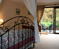 High Quality B and B accommodation in a rural setting Near Exeter in Devon